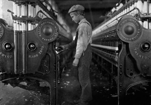 Young Mill Worker (via Wikimedia Commons)