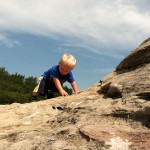 Our Little Mountain Climber!