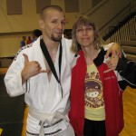 With my Mom at the Hoosier Open, Hanging Loose