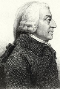 Adam Smith (via Wikimedia Commons)