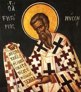 St. Gregory of Nyssa