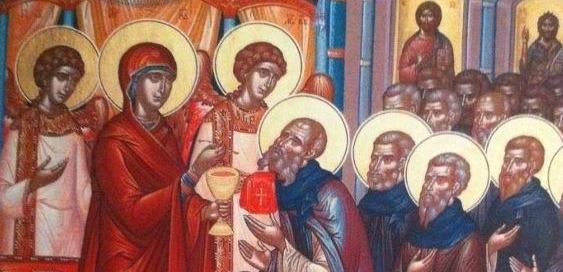 Theotokos Eucharist (Cropped)