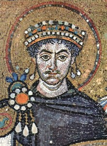Emperor Justinian, via Wikimedia Commons