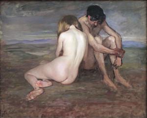 749px-Lothar_von_Seebach,_Adam_et_Eve_(vers_1910)