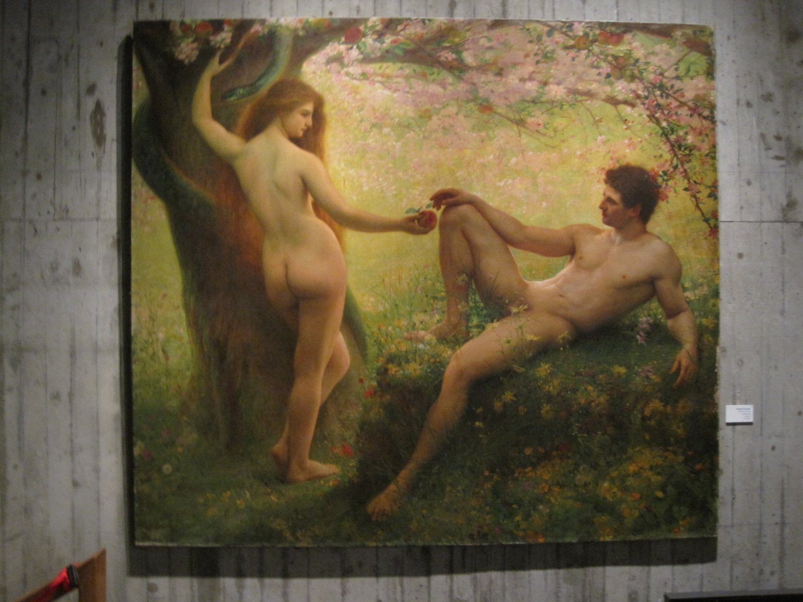 Adam et Eve gay